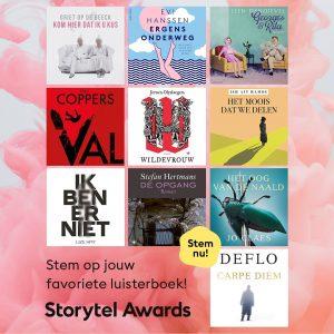 Storytel Awards - Boeken